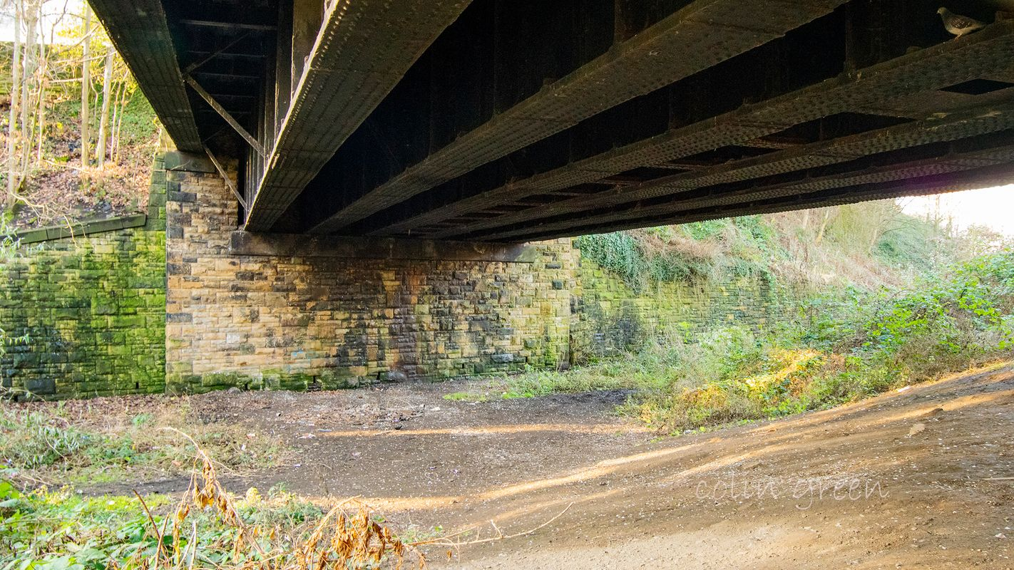Whitcliffe Bridge on the Spen Valley Greenway