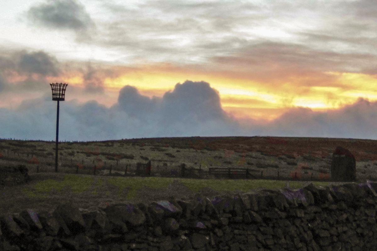 Sunrise in Scotland.