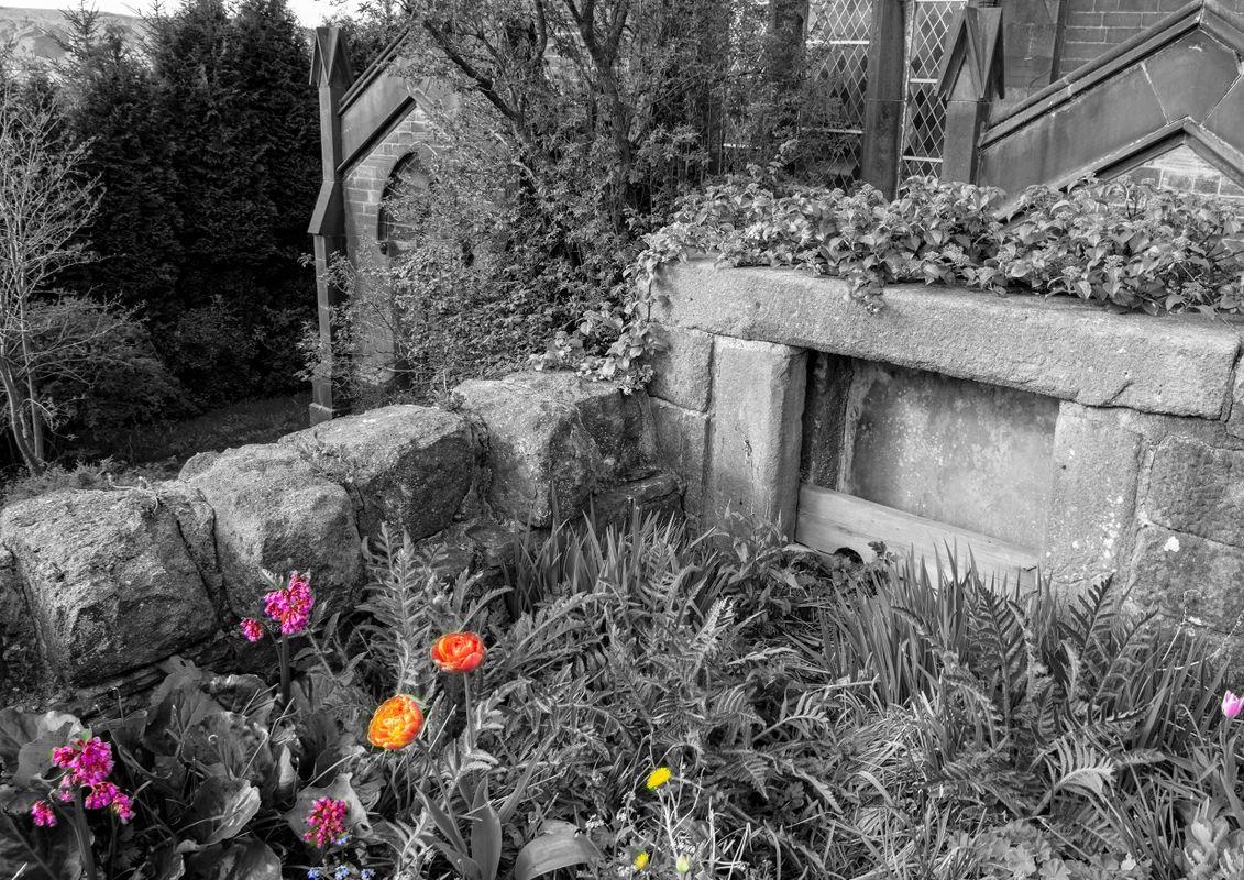 Cross Stone Stocks and Garden, Todmorden