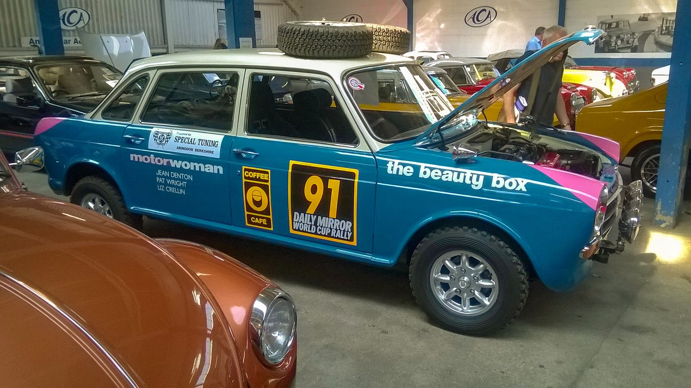 Morris 1800 World Cup Rally Edition.