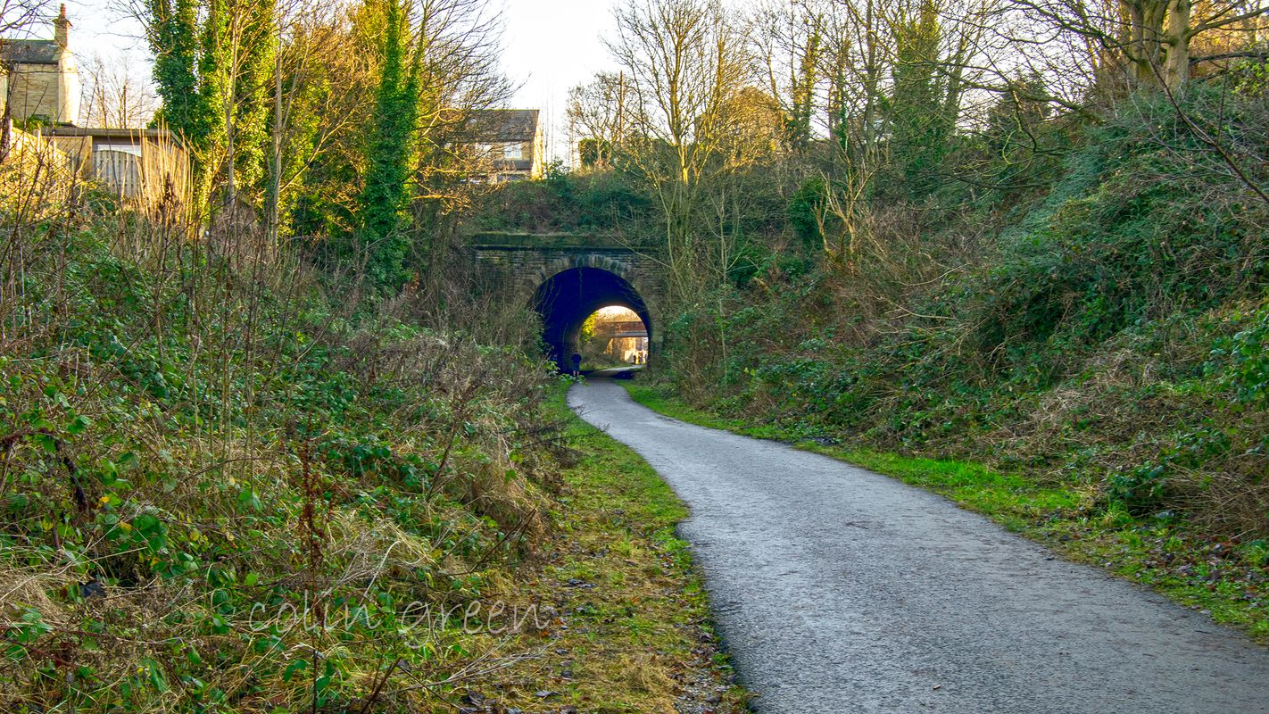 Spen Valley Greenway to Liversedge Tunnel