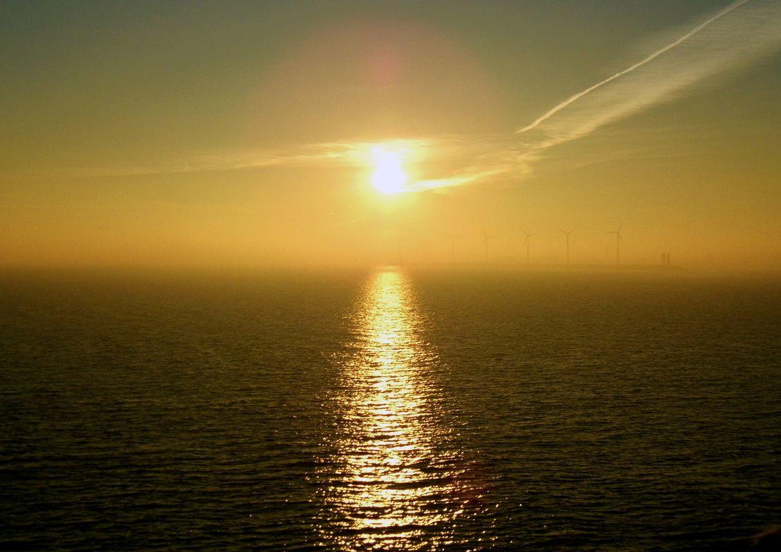 North Sea Sunrise.
