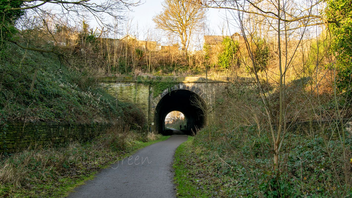 Liversedge Tunnel on the Spen Valley Greenway