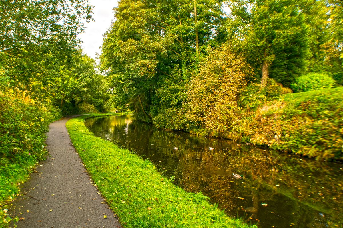 Calder & Hebble Navigation Canal, Copley