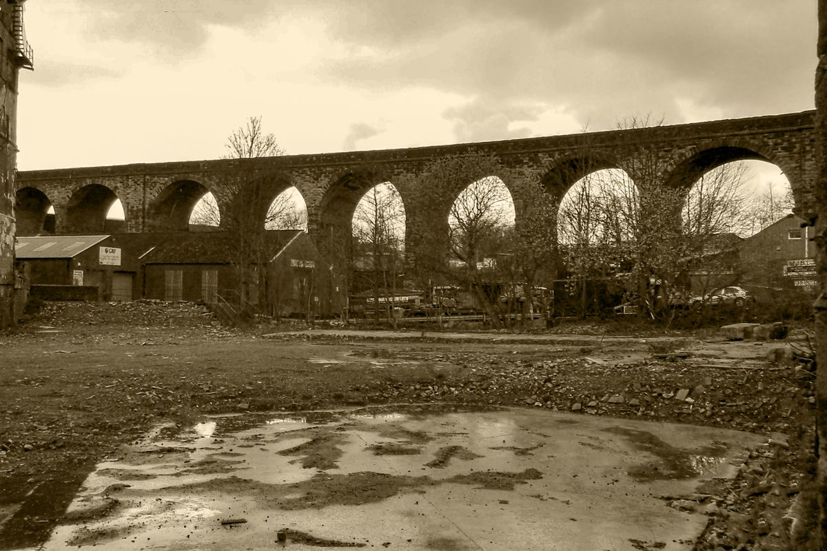 West Vale Viaduct.