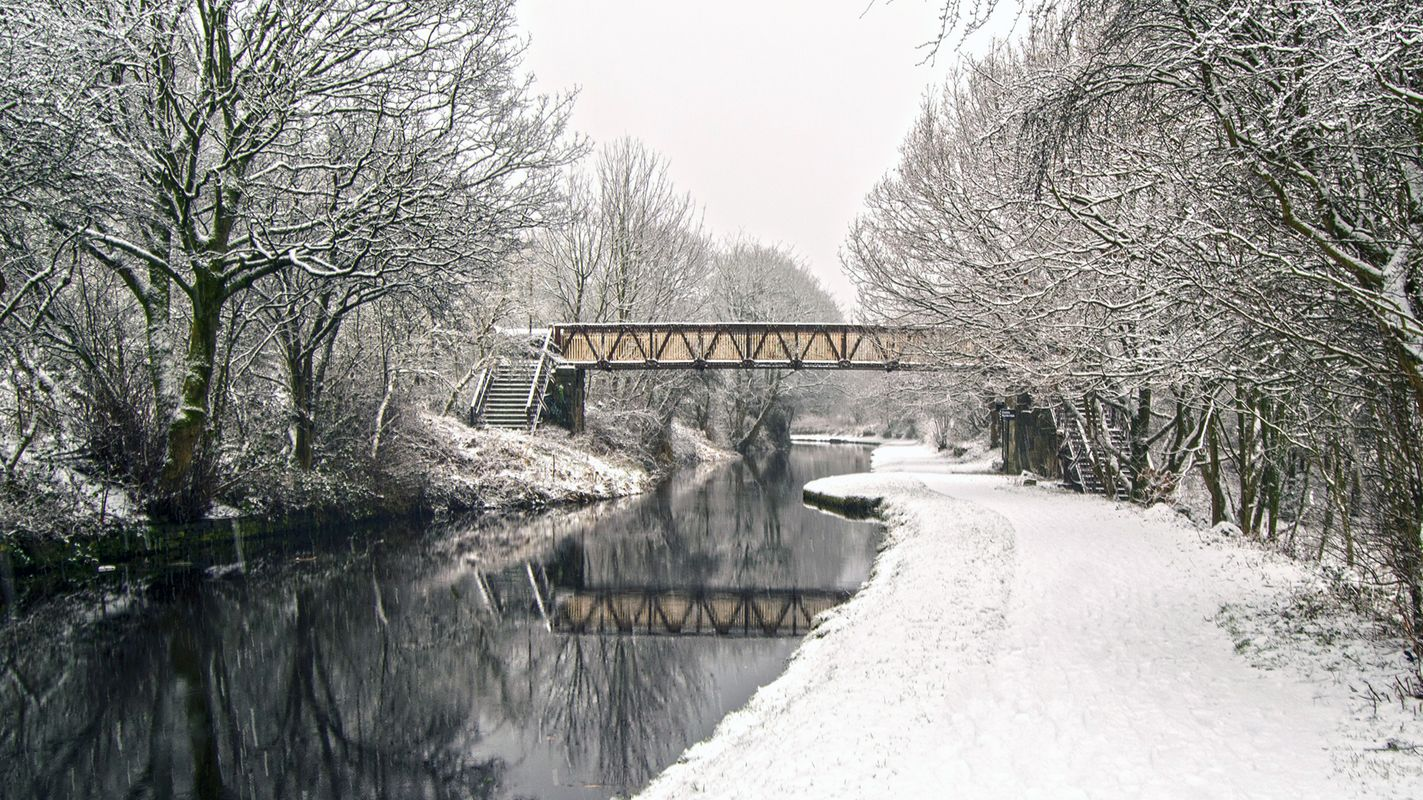Copley Canal Footbridge