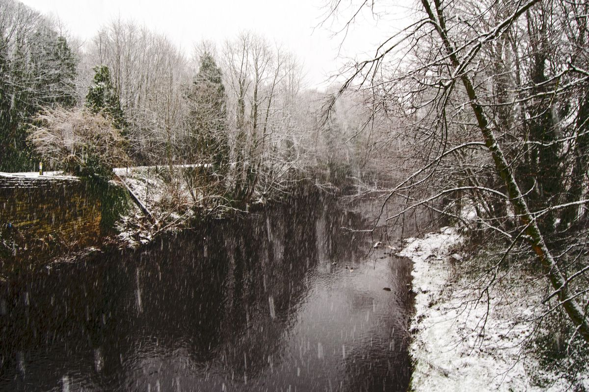 Winter and the River Calder.