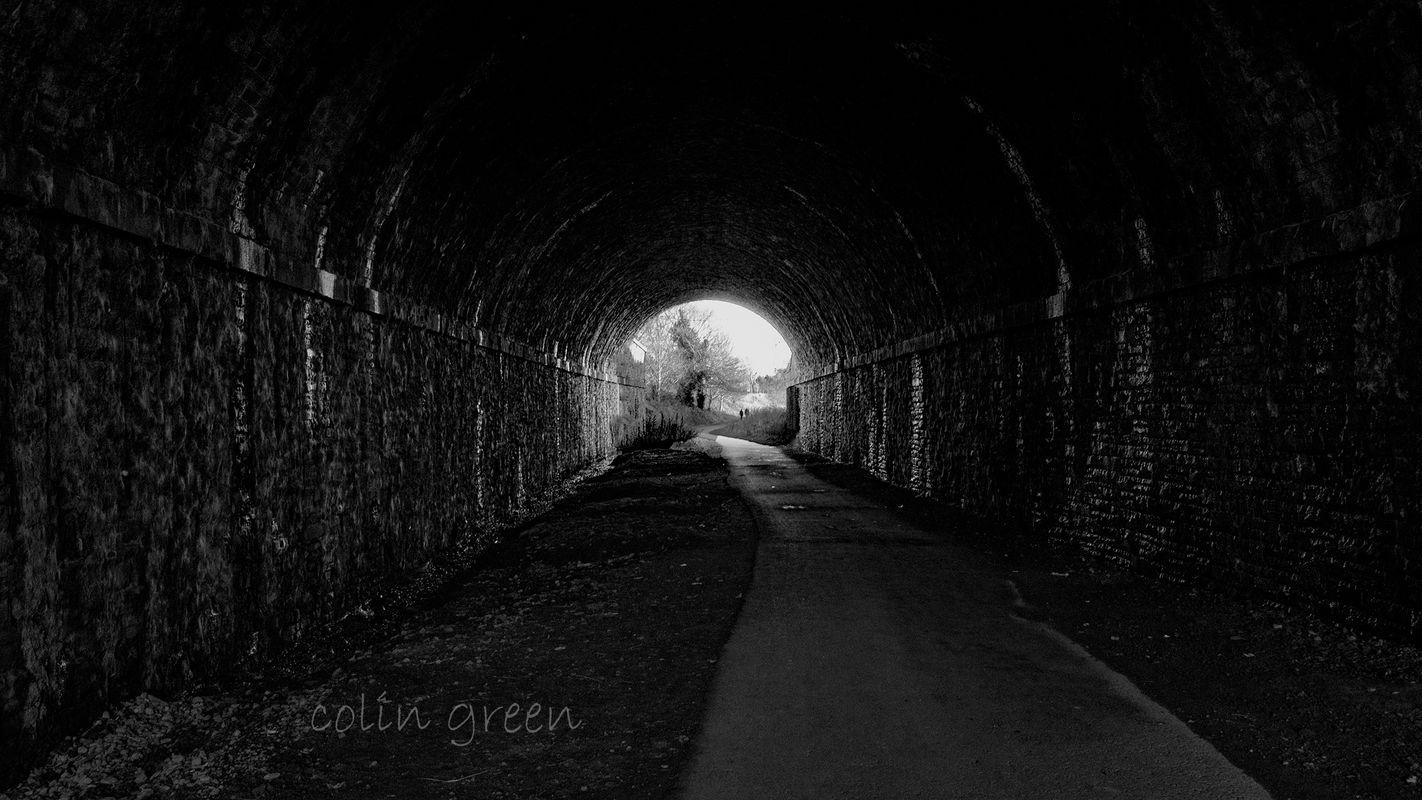 Inside Wyke Lane Tunnel