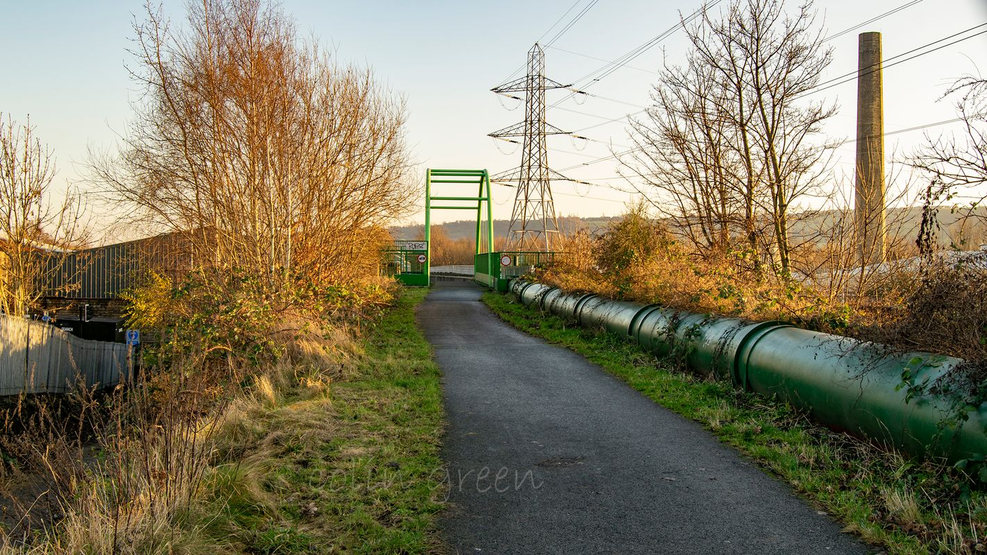 Former Site of Ravensthorpe L&Y Station on the Spen Valley Greenway