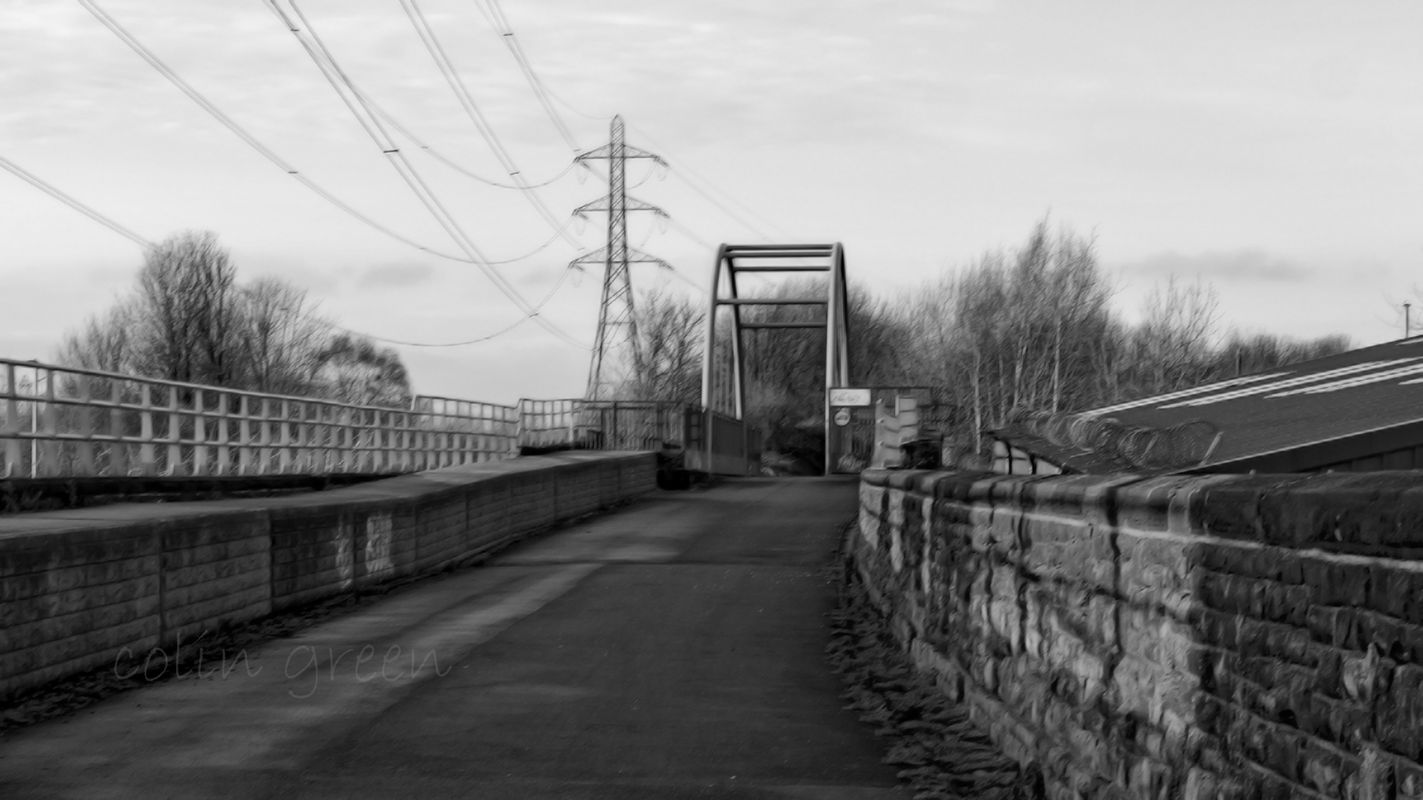 Huddersfield Road Bridge, Ravensthorpe on the Spen Valley Greenway