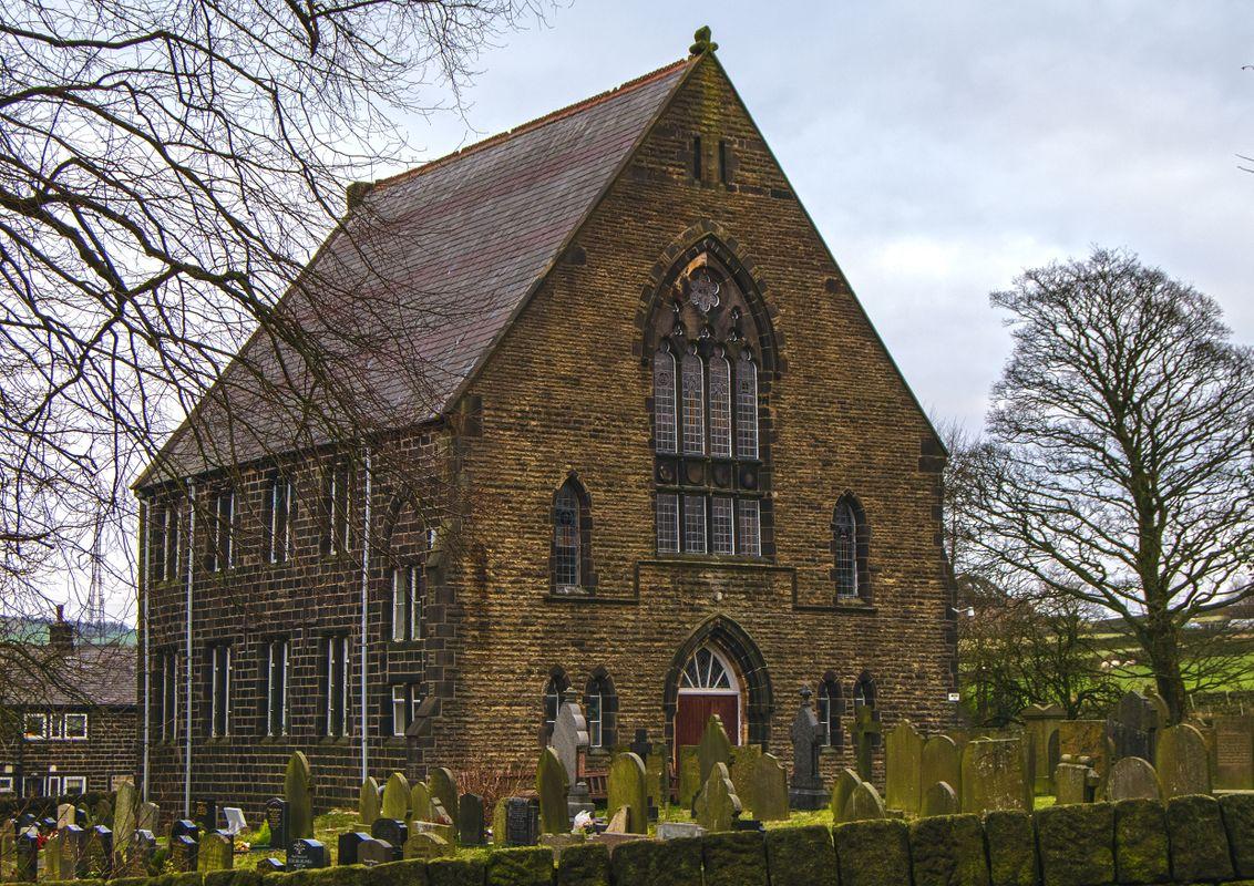 Lumbutts Methodist Church, West Yorkshire.