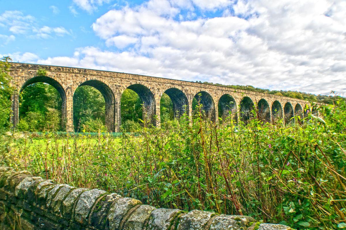 Copley Railway Viaduct.