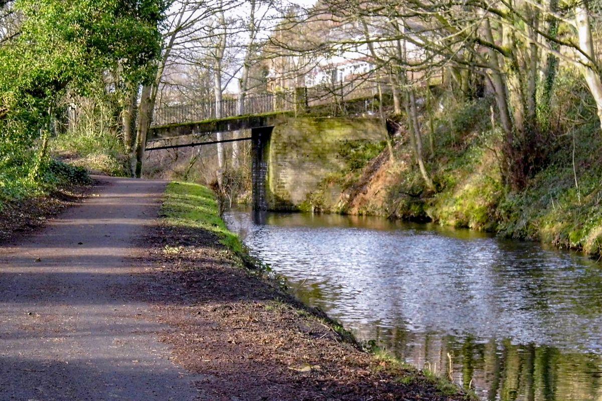 Lister Bridge, The Calder & Hebble.