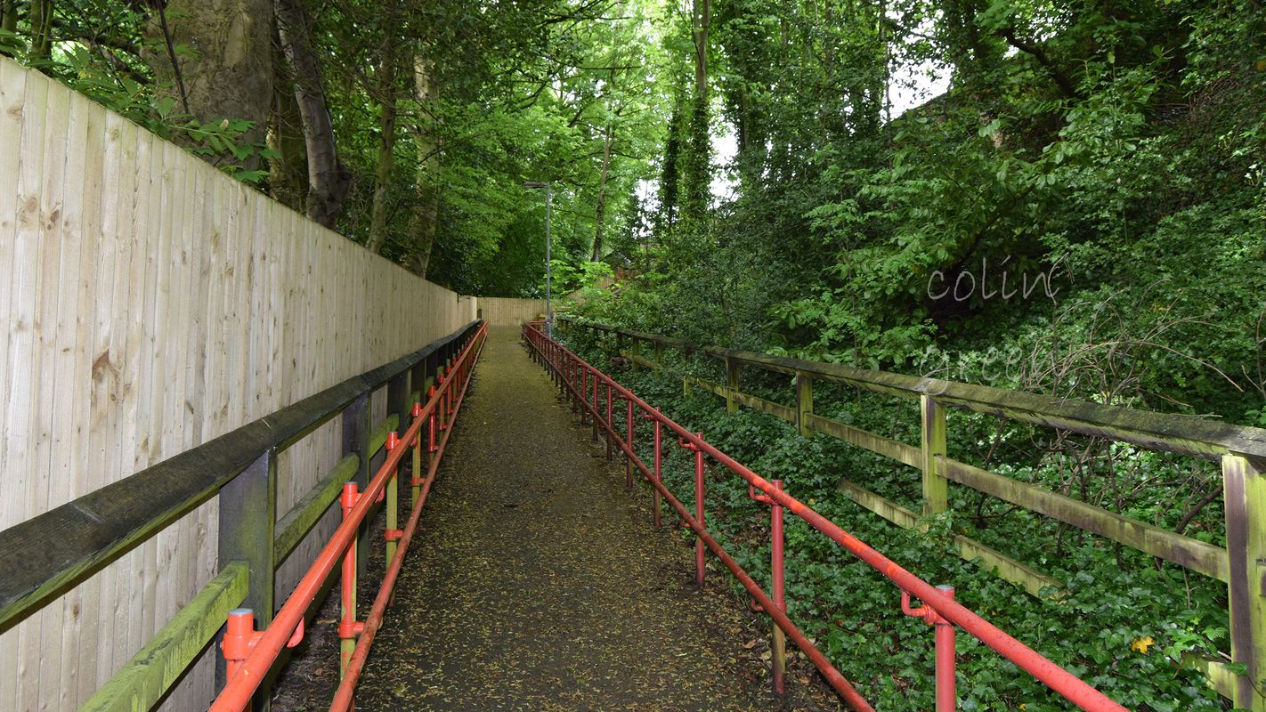 Access Ramp to Denby Dale Station