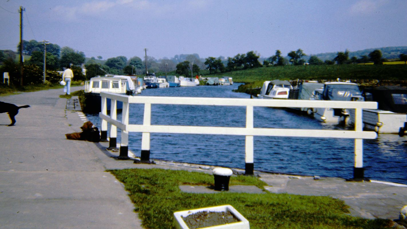Vintage Picture - Barrowford Lock 1974