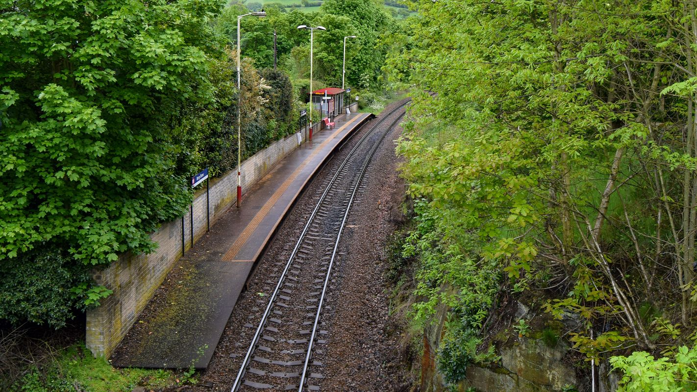 Berry Brow Railway Station