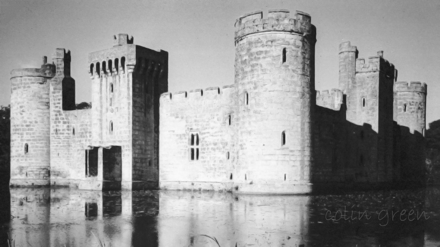 Bodiam Castle, Sussex 1960's
