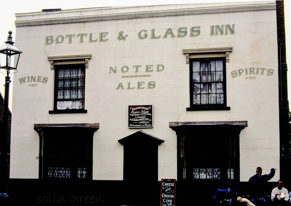 Bottle and Glass Inn Black Country Museum June 1997
