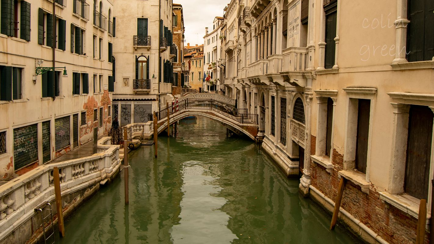 Cannaregio Canal, Venice.