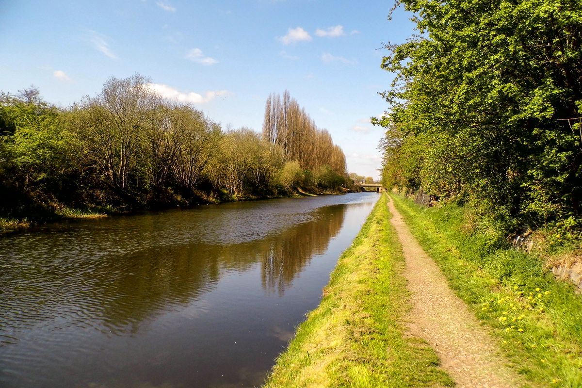 The Canal Path.
