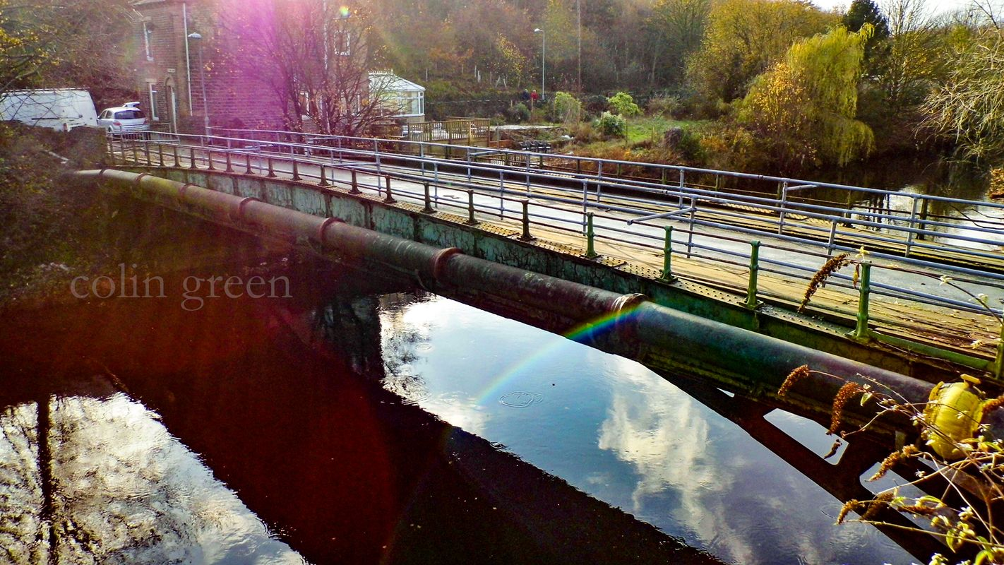 Gas Works Bridge, Sowerby Bridge.