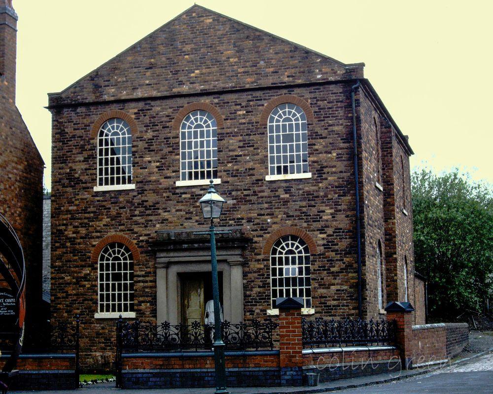 Methodist Chapel Black Country Museum June 1997