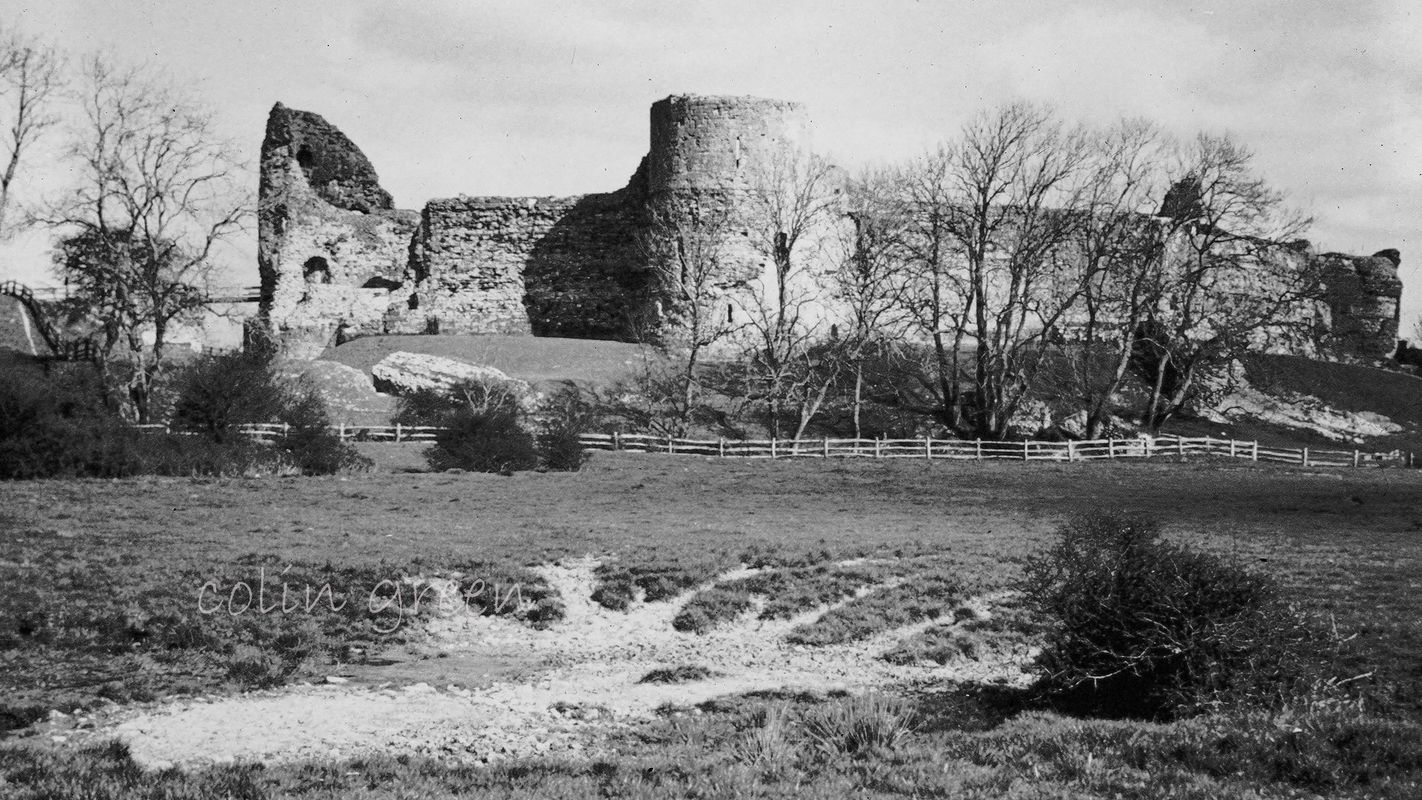 Pevensey Castle, East Sussex 1960's