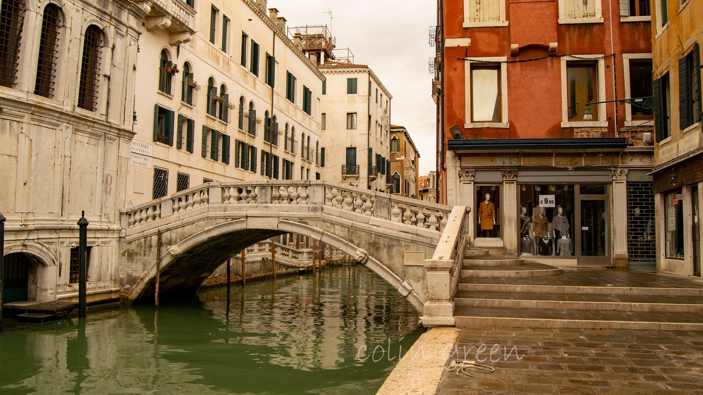 Ponte de la Canonica, Venice.
