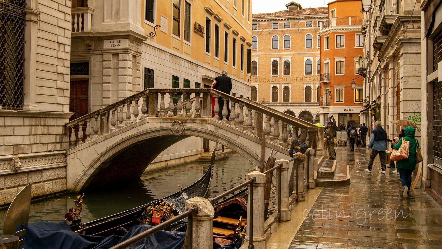 Ponte Tron, Venice.