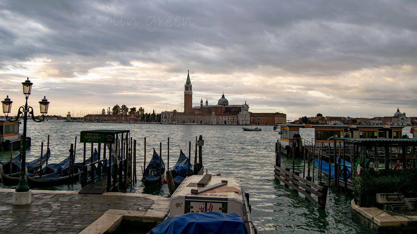 San Giorgio Maggiore from San Marco, Venice.