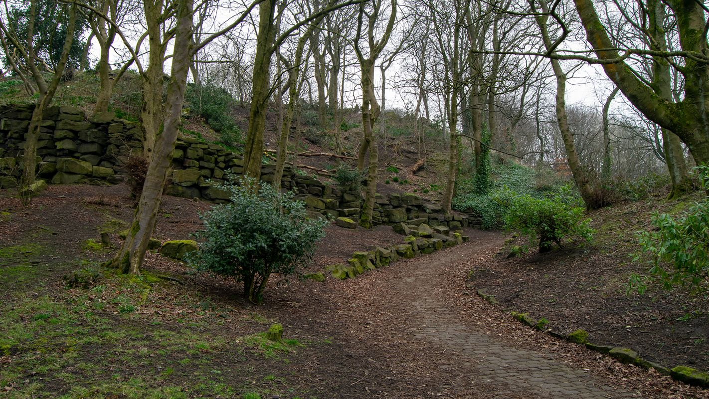 The Path, West View Park, Halifax