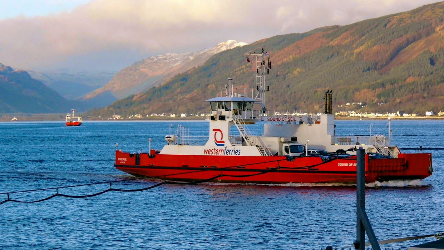 Western Ferries Boat on the River Clyde