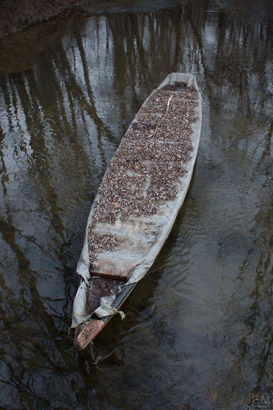 Old woodene boat