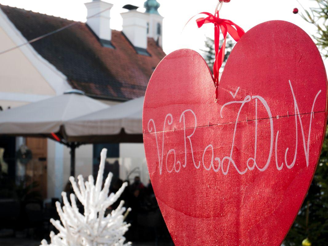 Varazdin's sign in the heart