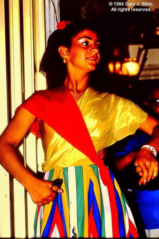 Flamenco Dancer at a Restaurant (1984-06-07 0003_01)