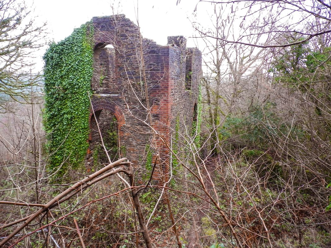 SKINNERS PUMPING ENGINE HOUSE CLITTERS MINE CORNWALL