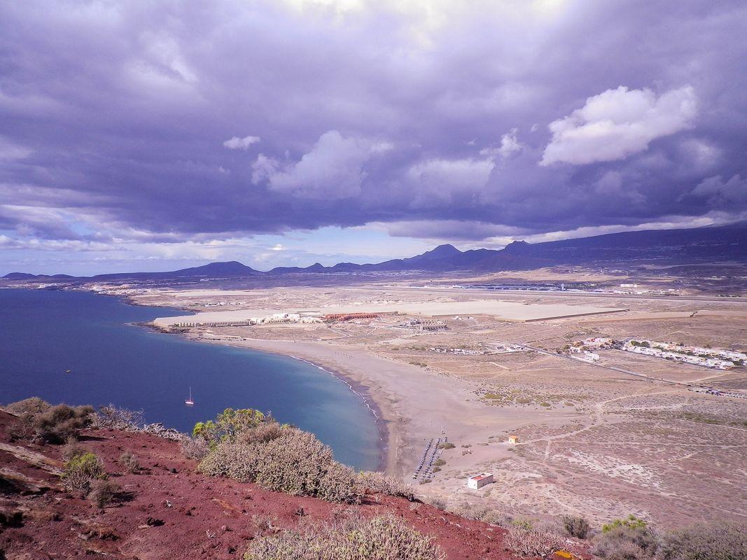 MONTAÑA ROJA EL MÉDANO TENERIFE CANARY ISLANDS