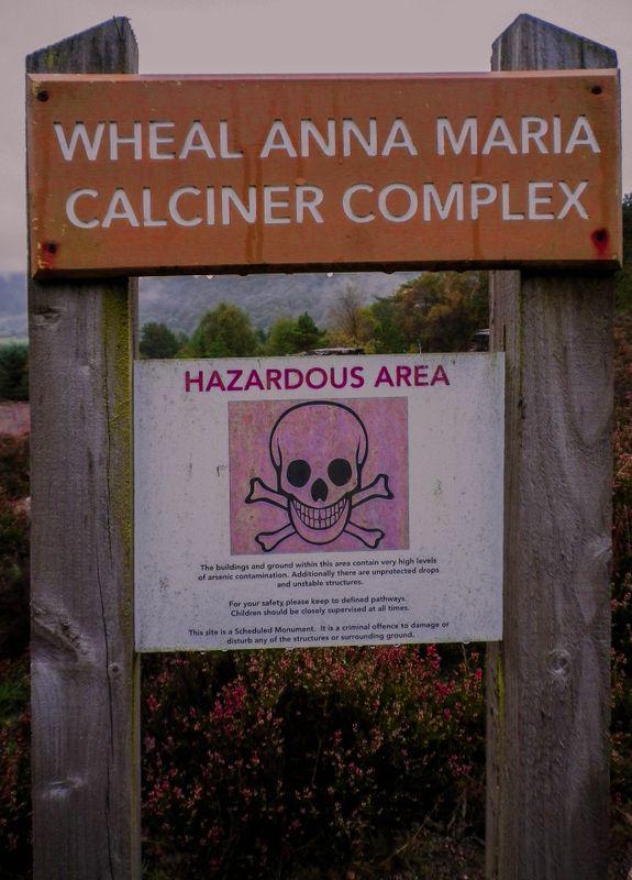 WHEAL ANNA MARIA MINE ARSENIC CALCINER COMPLEX DEVON