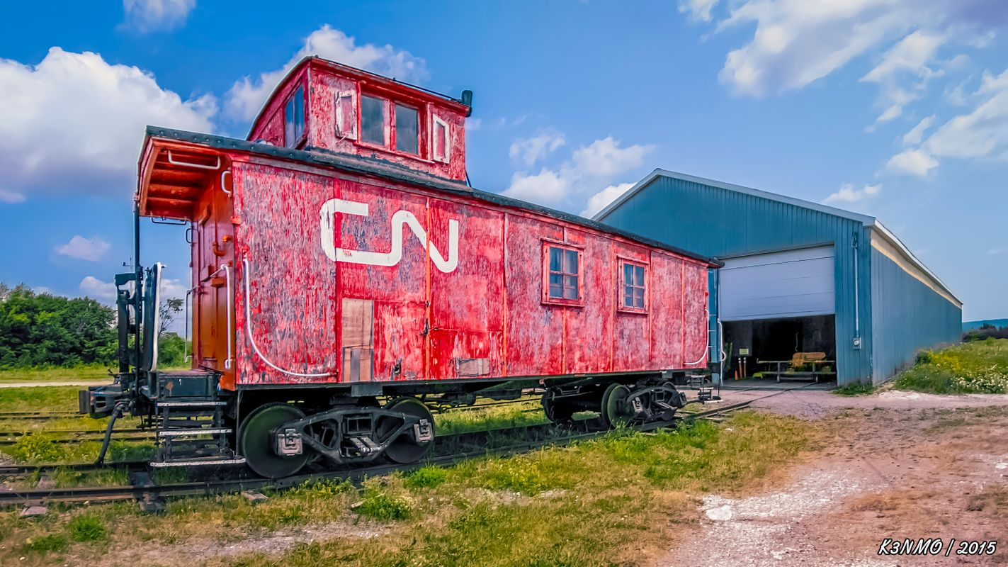Caboose at New Brunswick Railway Museum
