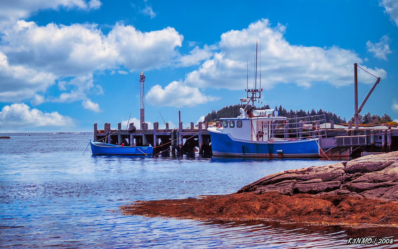 Fishing Boat in Lower Propspect