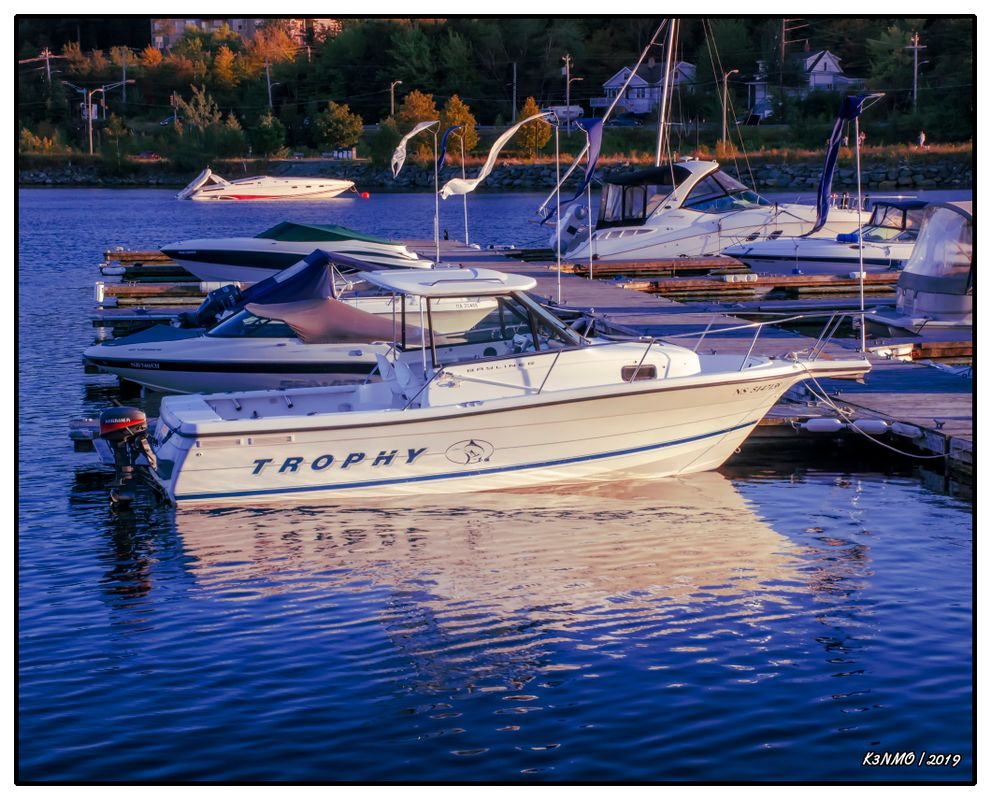 Sunset Nears on Bedford Waterfront 02