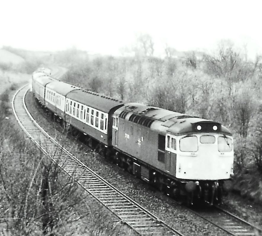 27049 app Ayr 0732 Stranraer - GLC 28mar84 - Glenn Jones