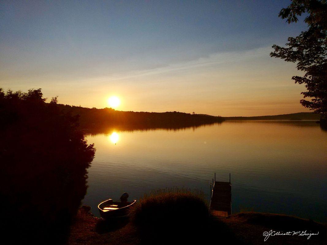 Sunrise At Skiff lake