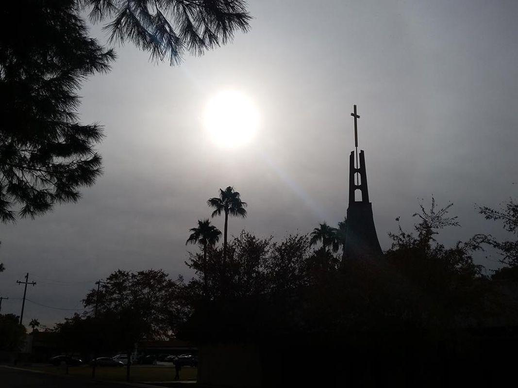A Dark And Cloudy Day in Phoenix, Arizona