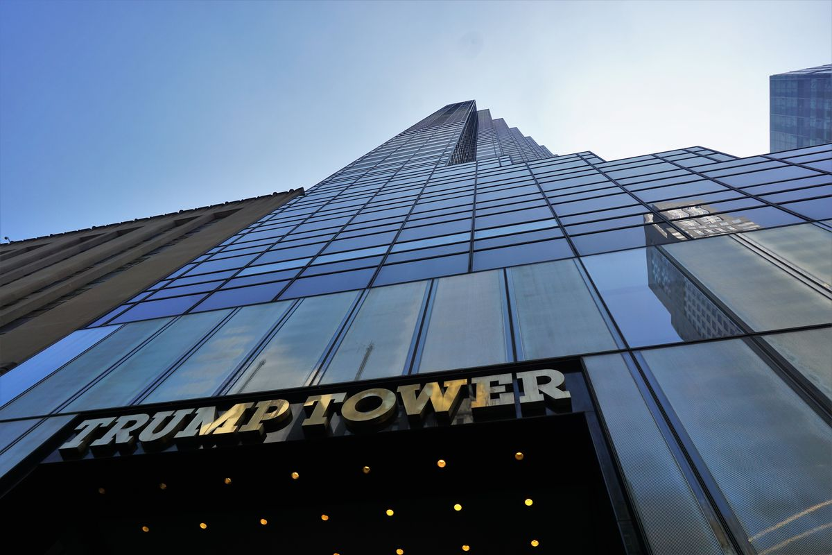 Trump tower up