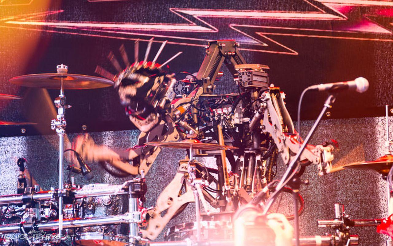 Compressorhead - LIVE - Stickboy