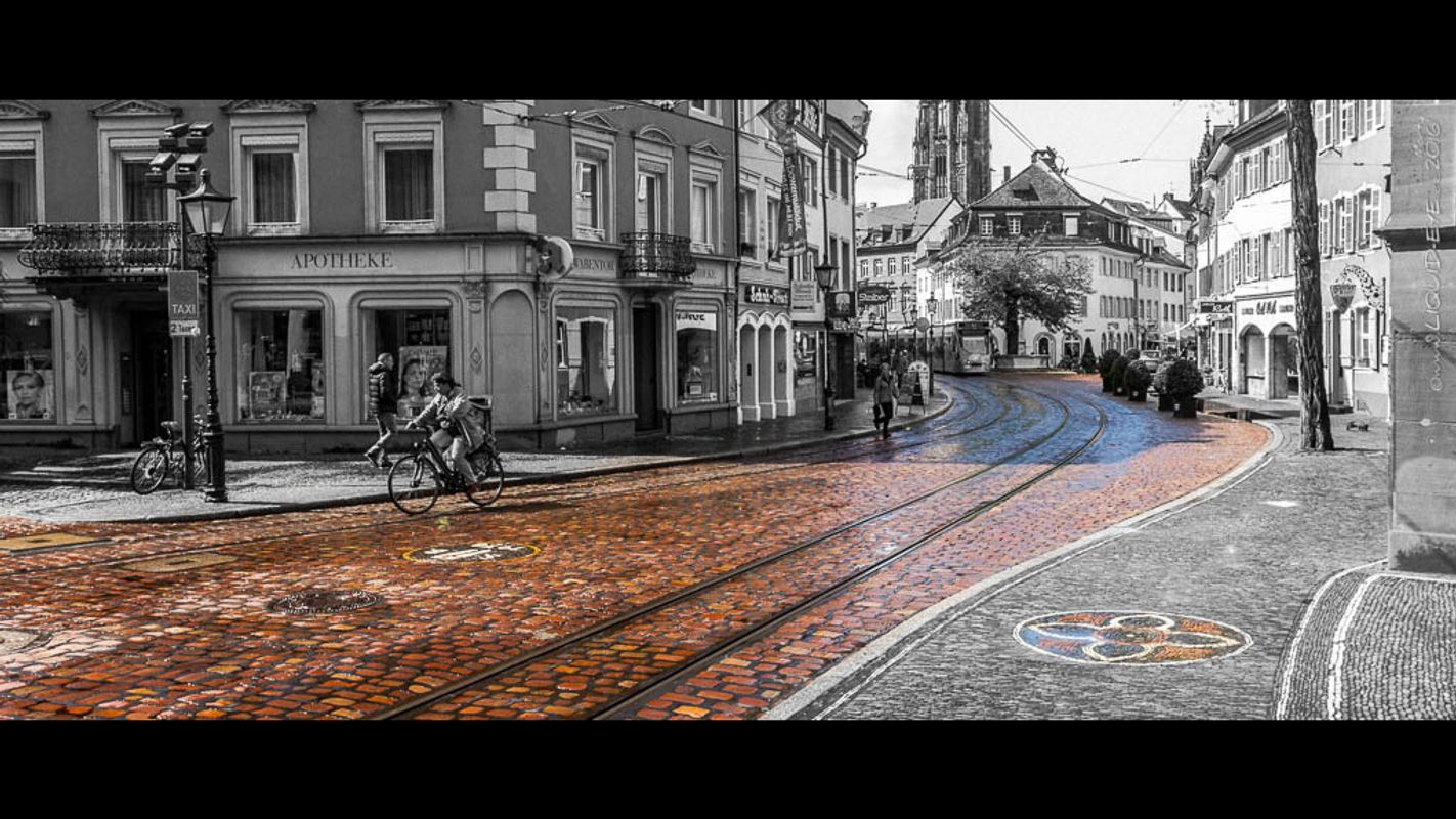 Colored Cobblestones