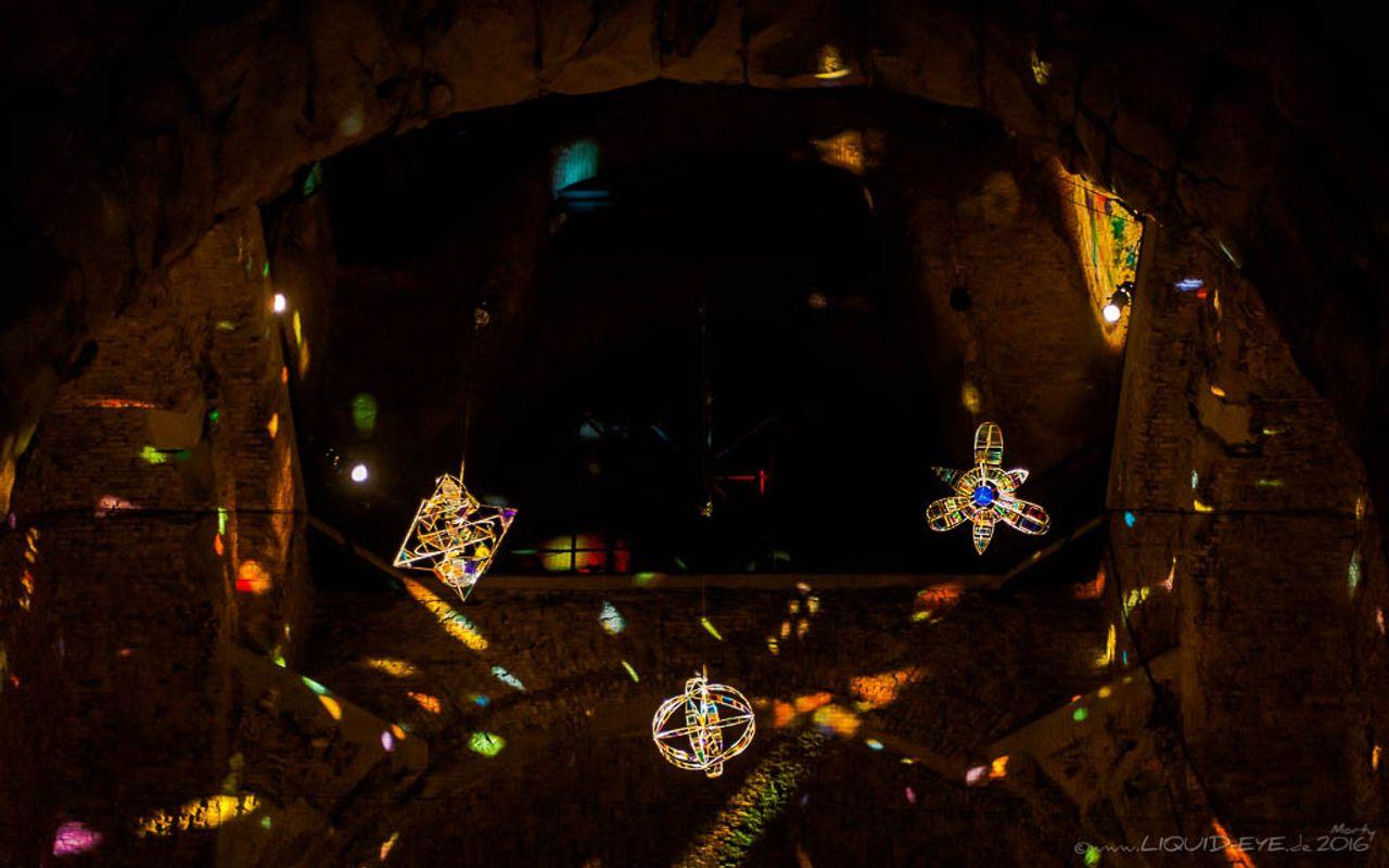Der Lichtpoet @ Gedächtniskirche, Berlin for Berlin Leuchtet 2016