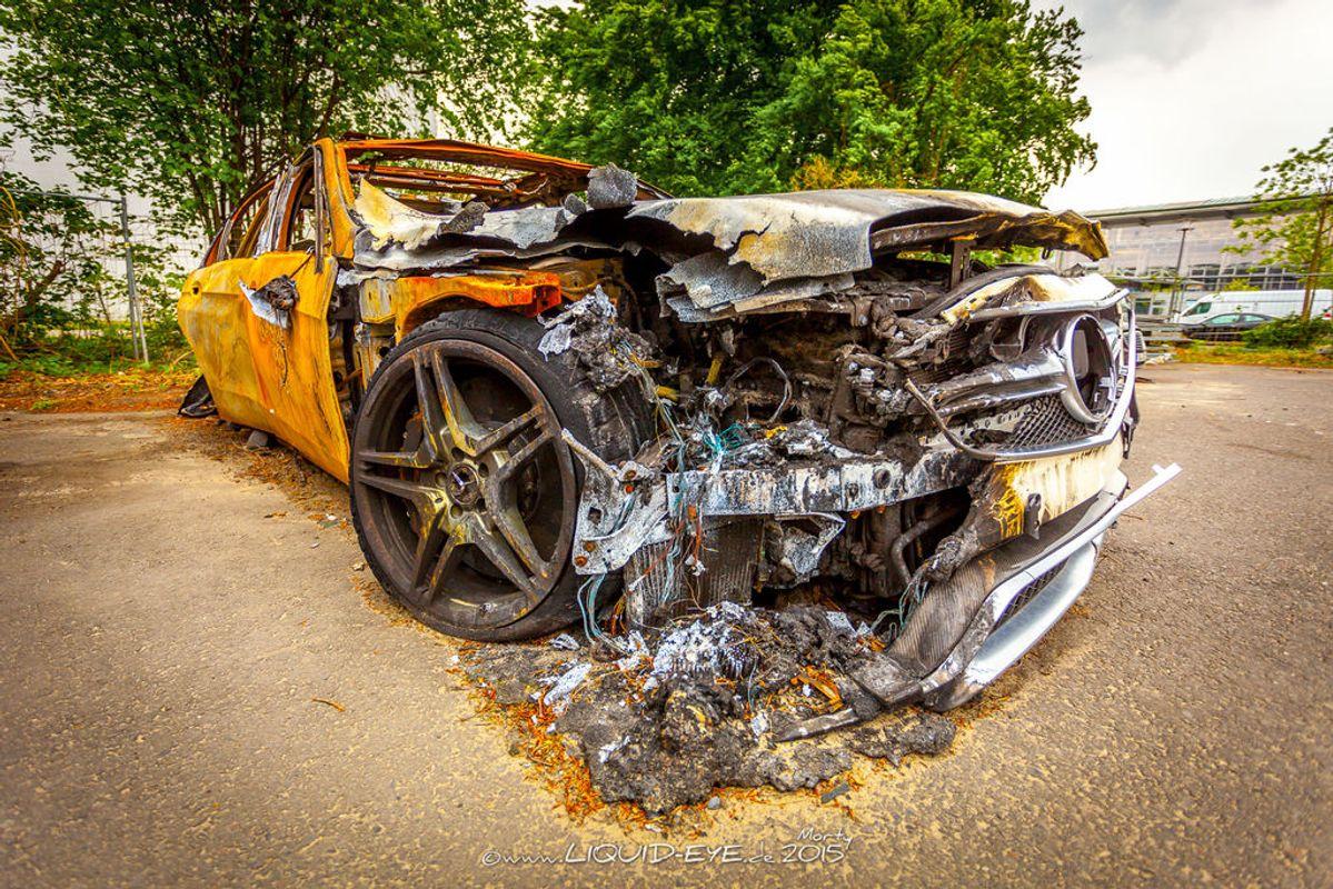Crashed Burned Rotten