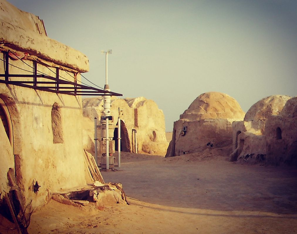Real set - Star Wars Mos Eisely Tunisia